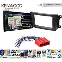 Volunteer Audio Kenwood Excelon DNX694S Double Din Radio Install Kit with GPS Navigation System Android Auto Apple CarPlay Fits 2007-2015 Mazda CX-9