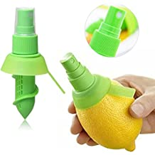 ASX Design Citrus Sprayer Lemon lime mist for your foods 3 Piece Set - Green
