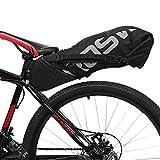Roswheel Waterproof Bike Pannier Bags - 9L Waterproof Bike Rear Seat Bag Accessories for Luggage, Mountain, Road, Cycling Sport