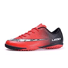 Men's Athletic Light Weight Lace Up Indoor Sport Cleats Football Shoes