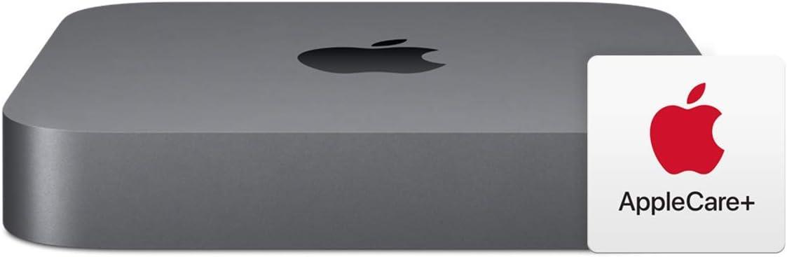 New Apple Mac Mini (3.0GHz 6-core 8th-Generation Intel Core i5 Processor, 8GB RAM, 512GB) with AppleCare+ Bundle