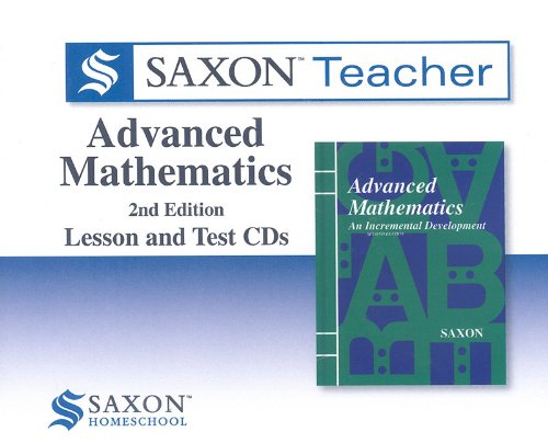 Saxon Advanced Math Homeschool Teacher Kit