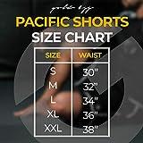 Gold BJJ Pacific Short - No-Gi Jiu Jitsu Fight
