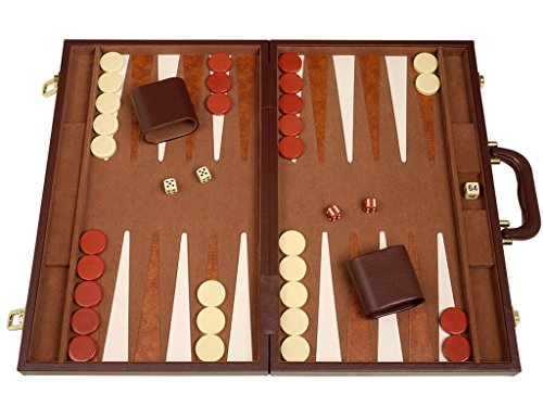 (Deluxe Backgammon Set - (18
