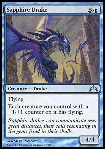 Magic: the Gathering - Sapphire Drake (47) - Gatecrash by ...