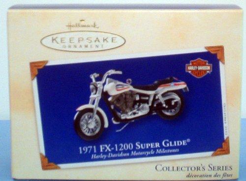 Hallmark Keepsake Ornament 1971 Fx 1200 Super Glide Motorcycle