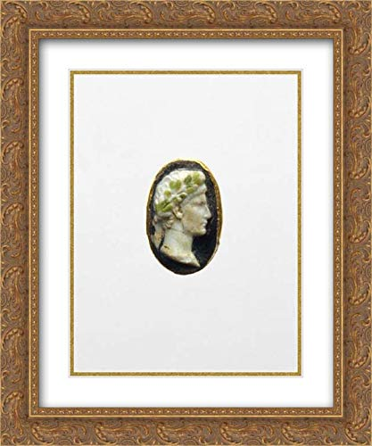 Portrait Cameo Ring - Roman Culture - 20x24 Gold