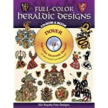 Full-Color Heraldic Designs (Book & CD-ROM)