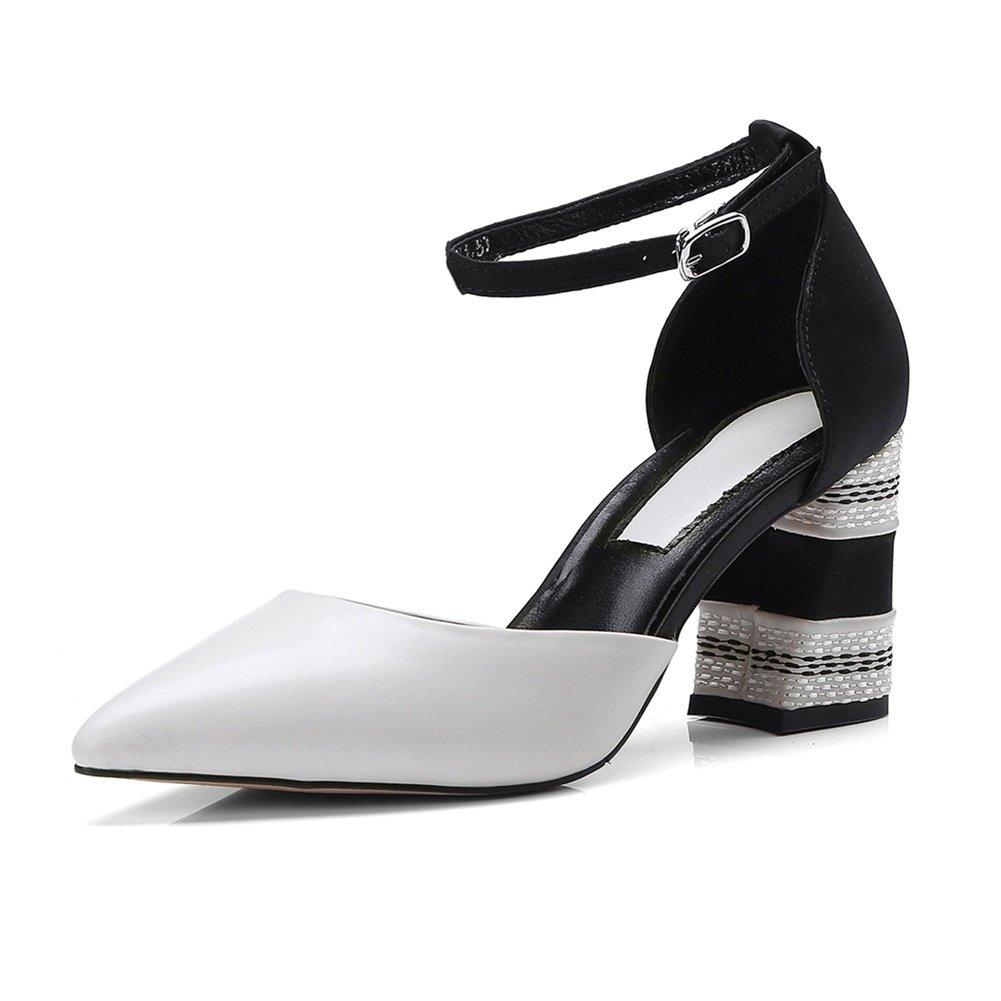 LNGXE Pantoletten Damenschuhe Sandalen Sandaletten WSXY