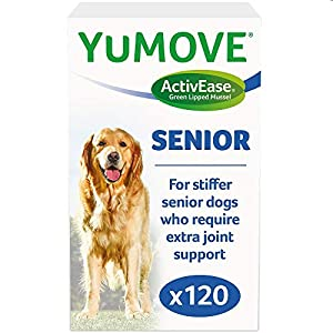Lintbells | YuMOVE Senior Dog | Higher Strength Hip and Joint Supplement Formulation Designed for Older Dogs | Aged 8…