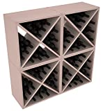 Wine Racks America Redwood 96 Bottle Wine Cube. 13 Stains to Choose From!