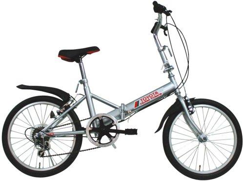 ミムゴ 20インチ折畳み自転車6段ギア付 トムスバイク B0018P86O8シルバー