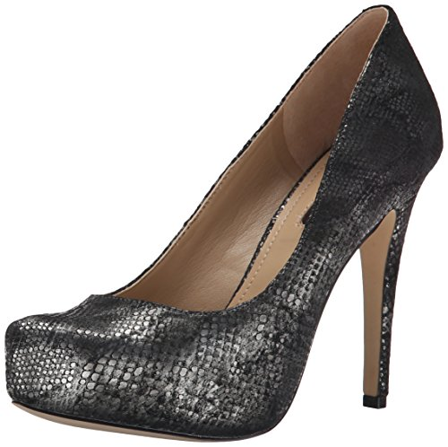Bcbgeneration Womens Parade Platform Pump Dark Gunmetal