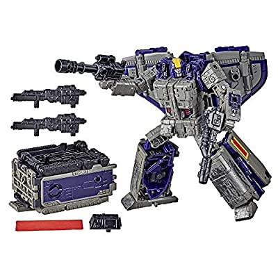 Transformers Toys Generations War for Cybertron: Earthrise Leader WFC-E12 Astrotrain Triple Changer Action Figure - Kids Ages 8 and Up, 7-inch: Toys & Games