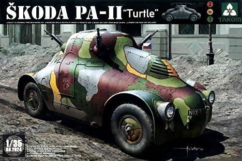 TAKOM 1/35 シュコダ PA-II 「タートル」 チェコ軍装甲車 プラモデル