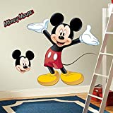 Roommates Rmk1508Gm Mickey Mouse Peel And Stick Giant Wall Decal