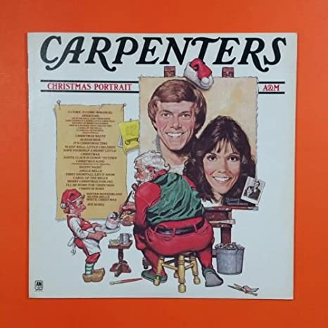 Carpenters Christmas Portrait.Carpenters Christmas Portrait Sp 3210 Lp Vinyl Vg Cover Vg