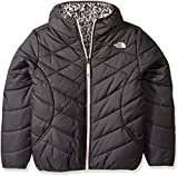 The North Face Girl's Reversible Perrito Jacket - Graphite Grey - L (Past Season)