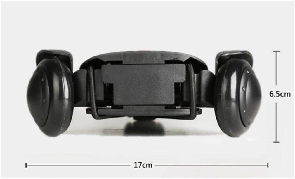 ELEGENCE-Z Trolley Truck Foldable, Aluminum Alloy Black Small Cart Portable Folding Mini Trolley Shopping Cart Bag Car by ELEGENCE-Z (Image #3)