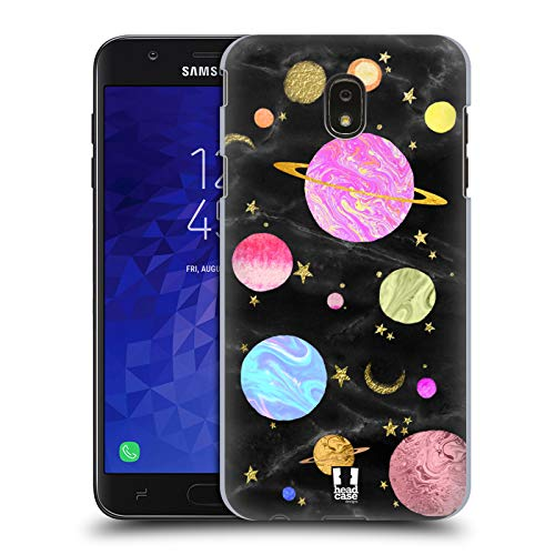 Head Case Designs Planets Marble Galaxy Hard Back Case for Samsung Galaxy J7 (2018)