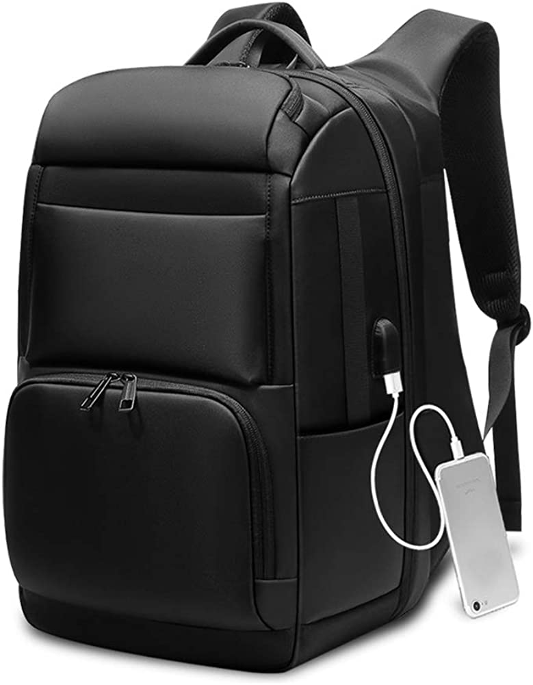 Business Laptop Backpack Anti Theft Durable Laptop Bag with USB Charging Port Water Resistant College School Computer Bag for Women Men