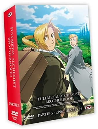 Fullmetal Alchemist : Brotherhood - Coffret Partie 5 Francia DVD: Amazon.es: Yasuhiro Irie: Cine y Series TV