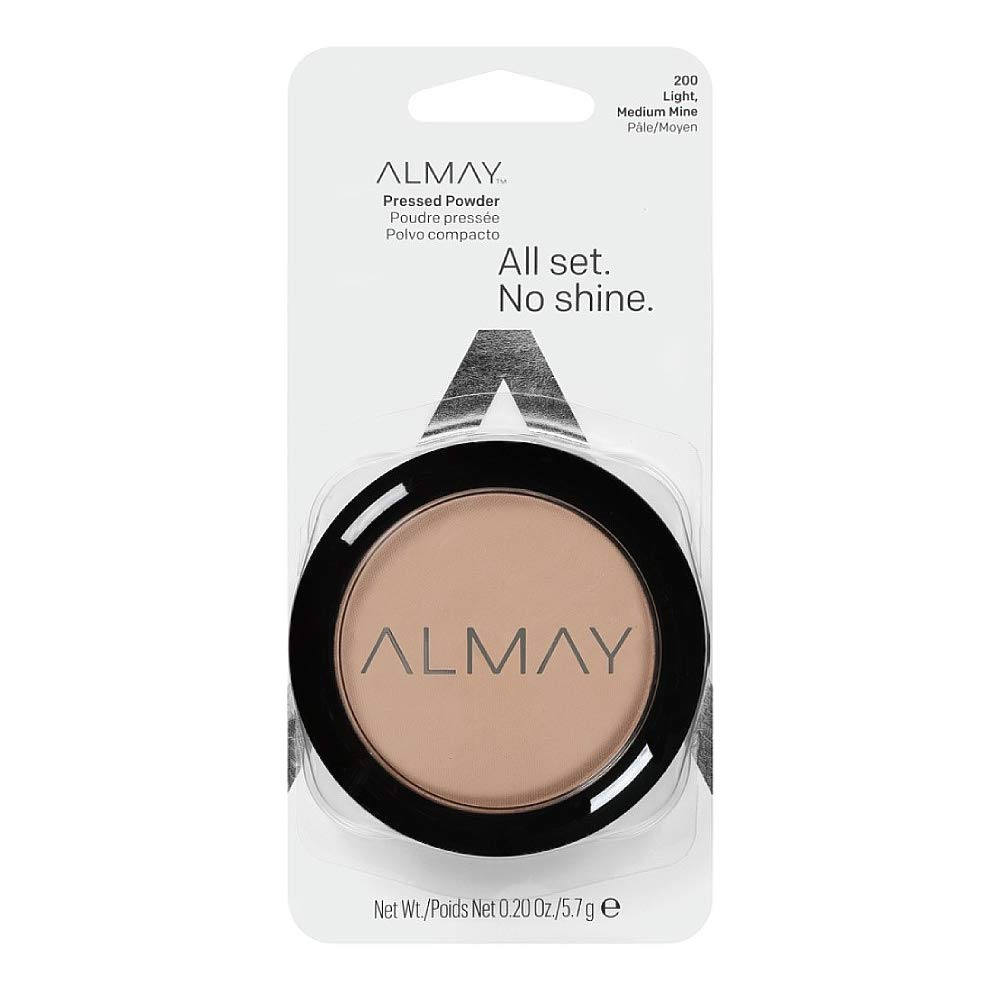 Almay Smart Shade Smart Balance Skin Balancing Pressed Powder, Light/Medium [200] 0.20 oz by Almay REVLON