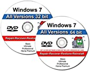 9th & Vine 2 DVDs Compatible With Windows 7 32-64 bit All Versions Professional, Home Premium, Ultimate, B