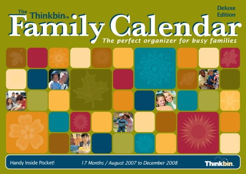 The Thinkbin Family 2007/2008 Calendar, Deluxe Large ()