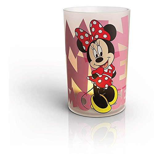 Philips Disney Children's LED Flameless USB Chargeable Candle (Minnie