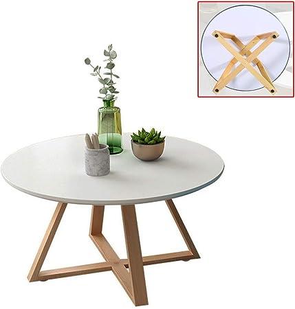Muebles y Accesorios de jardín Mesas Mesa Redonda pequeña de café Nordic Sencilla Tabla de combinación de café té doméstica pequeña Mesa Mesa de la Esquina Simple en la Sala de Estar: