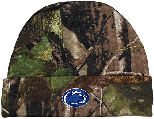 Creative Knitwear NCAA Big Ten Newborn Baby Knit Cap (Penn State Realtree Camo)