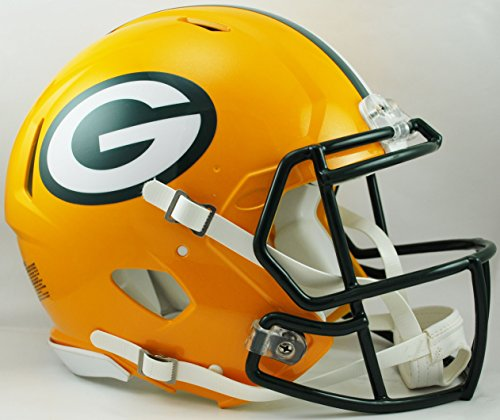 - NFL Green Bay Packers Speed Authentic Football Helmet