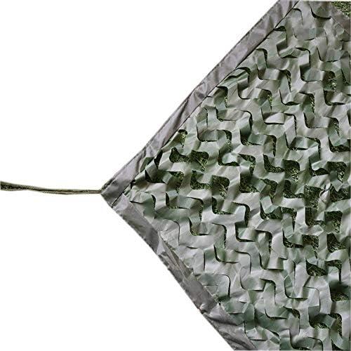 QSTF 緑の迷彩ネット、3m-7mで利用できる狩猟射撃の網 (Color : Green, Size : 3 × 10 M)