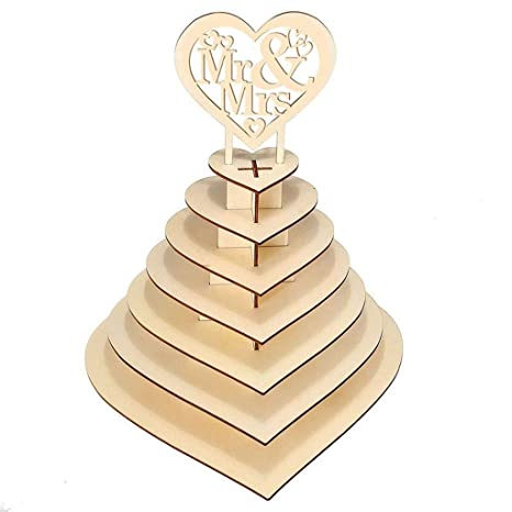 Amazon.com: Soporte de madera para chocolate, soporte de ...