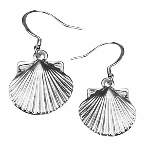 Scallop Shell Earrings by Cape Cod (Cape Cod Jewelry Collection)