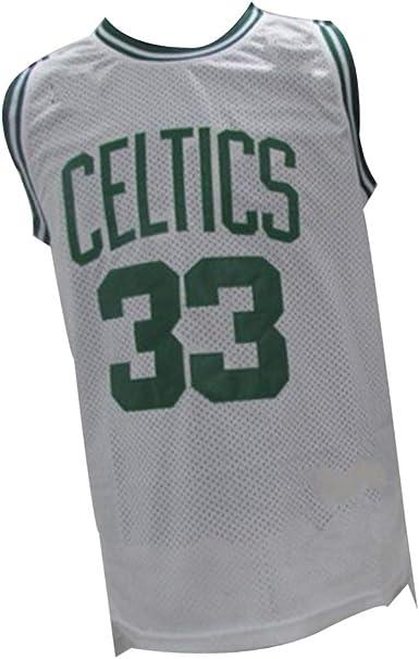 Larry Bird Boston Celtics playera de baloncesto 33#, chaleco ...