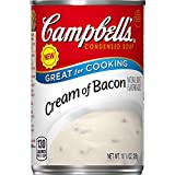 #1: Campbell's Condensed Cream of Bacon Soup, 10.5 Ounce