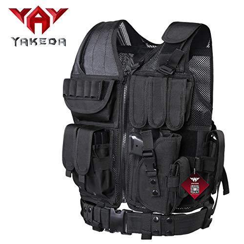 vAv YAKEDA Tactical CS Adjustable Vest (Black-2)