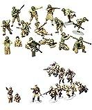 TAMIYA 2 Sets of Military Assembly Models Bundle