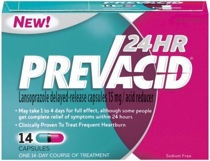 Prevacid 24 Hour Antacid Capsules-42 ct (Pack of - Prevacid 42ct