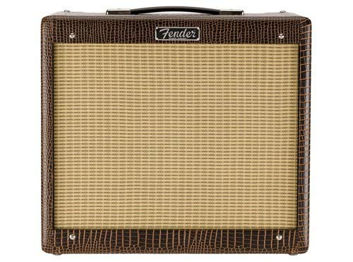 - Fender Blues Junior IV Limited Edition Alligator, 15 Watts, 1-12 Jensen P12Q speaker, tube amplifier combo