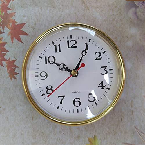Maslin 5PCS 110mm Quartz Insert Clock DIY Desk Clock Built - in Clock Quartz Clock Mechanism