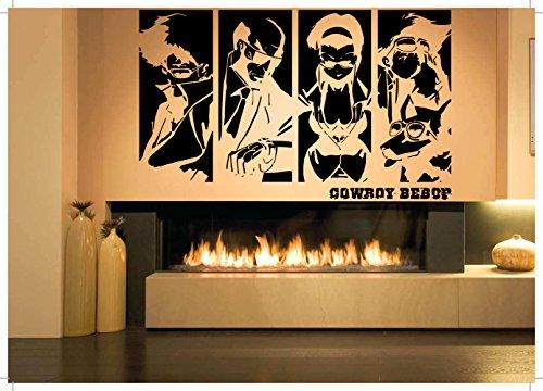 Space Cowboys Review - Vinyl Sticker Decal See You Space Cowboy Bebop Kids Bedroom Playroom Anime Cartoon Manga Hentai Wall Decor Poster Art SA964