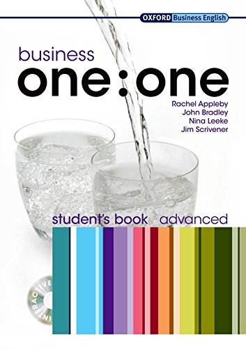 Business one:one Advanced: MultiROM included Student Book Pack (Oxford Business English)