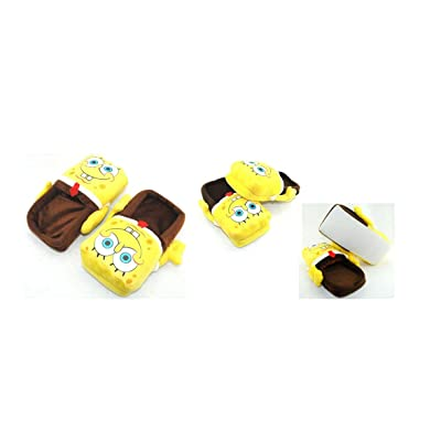 "Spongebob Plush Slipper Adult Size fit up to 10.5"" Long: Toys & Games"