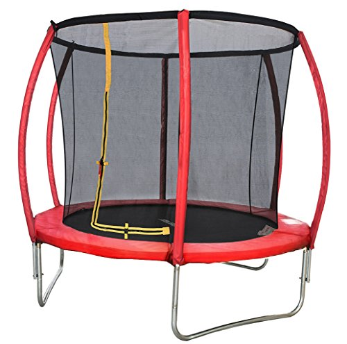 Merax Round Large Trampoline With Safety Enclosure