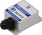 Dual Axis Digital Compass inclinometer Sensor LEC215 with Heading Accuracy 2 Degree and RS232,RS485,TTL,Modbus Output