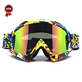 Zdatt Professional Adult Motocross Goggles Dirt Bike ATV Motorcycle Ski Glasses Motor Gafas UV Protection Ski Snowboard Goggles