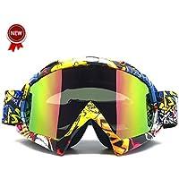 Zdatt Professional Adult Motocross Goggles Dirtbike ATV...